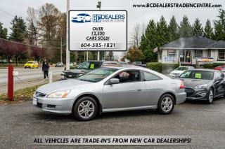 Used 2007 Honda Accord EX Coupe, 4-Cylinder, Local, Sunroof, Alloys, Clean! for sale in Surrey, BC