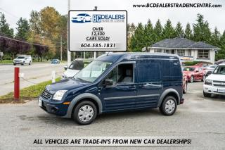 Used 2010 Ford Transit Connect XLT Cargo w/rear Door Glass, Rare Colour, 197k, Affordable! for sale in Surrey, BC