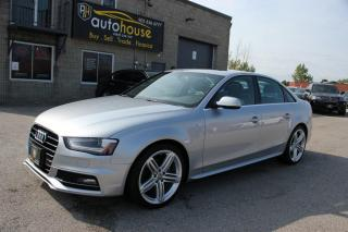 Used 2015 Audi A4 S-LINE,MAN Progressiv plus quattro,NAVI,BACKUP CAMERA for sale in Newmarket, ON