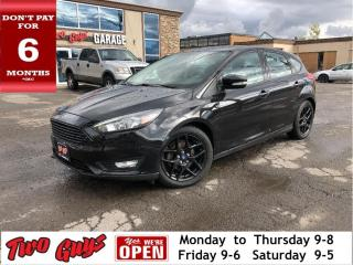 Used 2015 Ford Focus SE Plus | Leather | Sunroof | Auto | New Tires | A for sale in St Catharines, ON