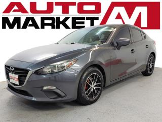 Used 2014 Mazda MAZDA3 i Sport 4-Door Certified, Alloys, WE APPROVE ALL CREDIT for sale in Guelph, ON