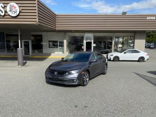 Used 2019 Honda Civic TOURING - HONDA SENSING WITH AUTONOMOUS BRAKING for sale in Langley, BC