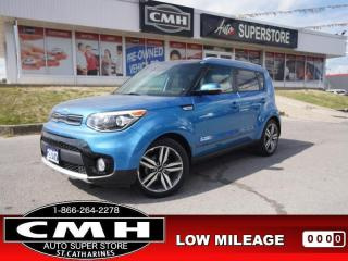 Used 2017 Kia Soul EX Premium  CAM LEATH PANO-ROOF P/SEATS HTD-SEATS for sale in St. Catharines, ON