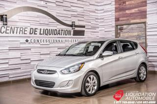Used 2014 Hyundai Accent GLS+TOIT+SIEGES CHAUFFANTS+BLUETOOTH for sale in Laval, QC
