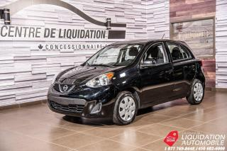 Used 2016 Nissan Micra SV+AIR+GR ELECTRIQUE+BLUE TOOTH for sale in Laval, QC