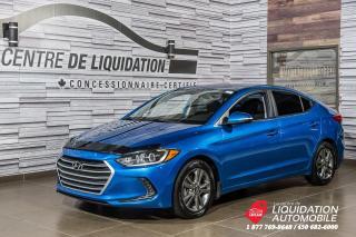 Used 2017 Hyundai Elantra GL+CAMERA RECUL+APPLE CAR PLAY+BLUETOOTH for sale in Laval, QC
