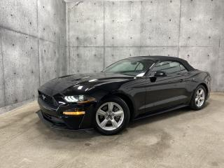 Used 2018 Ford Mustang CONVERTIBLE 2.3 ECOBOOST AUTOMATIQUE for sale in St-Nicolas, QC