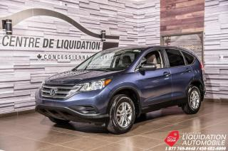 Used 2014 Honda CR-V LX+GR ELECTRIQUE+CAMERA+BLUETOOTH for sale in Laval, QC