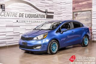 Used 2013 Kia Rio LX+MAGS +AIR+SIEGES CHAUFFANTS for sale in Laval, QC