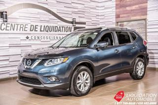 Used 2016 Nissan Rogue SV+NAV+TOIT-BLUETHOOT for sale in Laval, QC