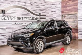 Used 2017 Toyota RAV4 LIMITED  for sale in Laval, QC