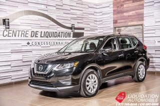 Used 2017 Nissan Rogue S+SIEGES CHAUFFANTS+CAMERA RECUL+BLUETOOTH for sale in Laval, QC