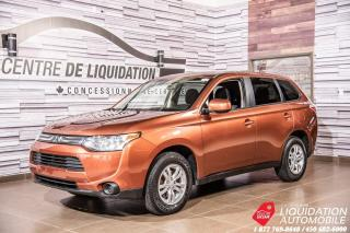 Used 2014 Mitsubishi Outlander ES +MAG +AIR+BLUE TOOTH for sale in Laval, QC