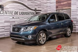 Used 2014 Nissan Pathfinder PLATINIUM +NAV+CUIR+TOIT for sale in Laval, QC