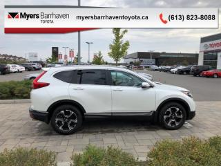 Used 2017 Honda CR-V Touring  - Navigation -  Leather Seats - $165 B/W for sale in Ottawa, ON