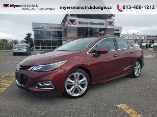 Used 2016 Chevrolet Cruze Premier  - Leather Seats - $134 B/W for sale in Ottawa, ON