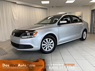 Used 2014 Volkswagen Jetta 2.0L Comfortline, Gr. Élect. A/C, Auto. Bas Kilo! for sale in Sherbrooke, QC