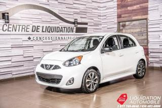 Used 2015 Nissan Micra SR+GR ELECTRIQUE +AIR+BLUETOOTH+CAMERA RECUL for sale in Laval, QC