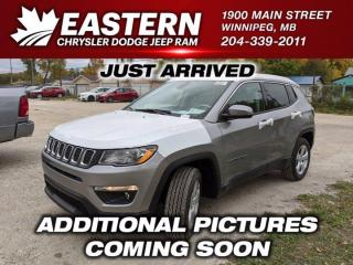 New 2021 Jeep Compass North | Backup Cam | Heated Front Seats & Steering Wheel | for sale in Winnipeg, MB