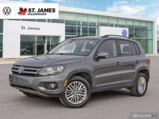 Used 2016 Volkswagen Tiguan Special Edition, Clean Carfax, Push to Start, Panoramic Sunroof for sale in Winnipeg, MB