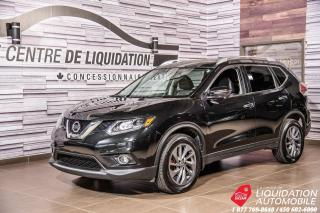 Used 2016 Nissan Rogue SL+SIEGE CUIR+TOIT PANO+NAV for sale in Laval, QC
