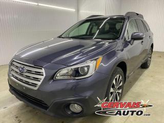 Used 2016 Subaru Outback Limited AWD GPS Harman Kardon Cuir Toit MAGS *Bas Kilométrage* for sale in Shawinigan, QC