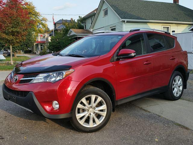2013 Toyota RAV4 Limited AWD Htd Leather Sunroof & Rev Cam WOW Low Km's!!!