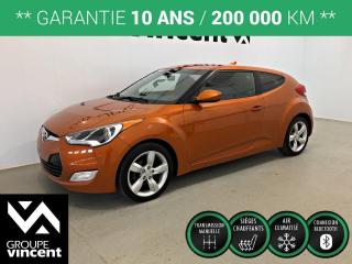 Used 2013 Hyundai Veloster ** GARANTIE 10 ANS ** Véhicule au look exclusif! for sale in Shawinigan, QC