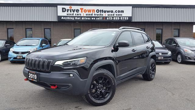 2019 Jeep Cherokee Trailhawk V6 4X4 LEATHER ROOF NAV