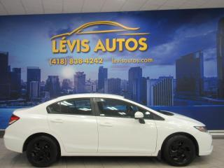 Used 2014 Honda Civic LX MANUEL AIR CLIMATISE BLUETOOTH AIR CL for sale in Lévis, QC