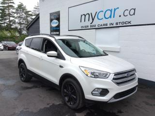 Used 2017 Ford Escape PANOROOF, BLACK WHEELS, PWR SEAT, BIG SCREEN!! for sale in Kingston, ON