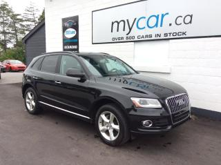 Used 2015 Audi Q5 2.0T Komfort LEATHER, HEATED SEATS, ALLOYS!! for sale in North Bay, ON