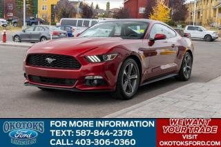Used 2017 Ford Mustang EcoBoost Premium COUPE PREMIUM/AUTO/NAV for sale in Okotoks, AB