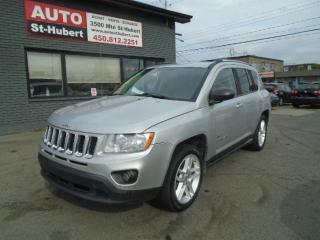 Used 2011 Jeep Compass 70E ANNIVERSAIRE LIMITED 4X4 for sale in St-Hubert, QC