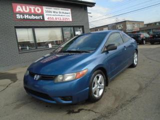 Used 2006 Honda Civic DX-G for sale in St-Hubert, QC