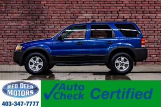 Used 2007 Ford Escape AWD XLT Luxury Edition Leather Roof for sale in Red Deer, AB