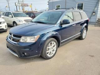 Used 2014 Dodge Journey AWD R/T NAV 7 Passenger Backup Camera for sale in Winnipeg, MB