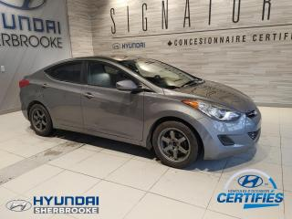 Used 2013 Hyundai Elantra GL A/C BANCS CHAUF BLUETOOTH CRUISE MAGS for sale in Sherbrooke, QC