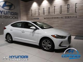 Used 2018 Hyundai Elantra GL+CAMERA+BANCS/VOLANT CHAUF+ANGLES-MORT for sale in Sherbrooke, QC