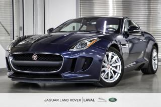 Used 2017 Jaguar F-Type Coupe *TRANSMISSION MANUELLE* for sale in Laval, QC