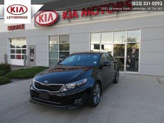 Used 2015 Kia Optima SX TURBO for sale in Lethbridge, AB