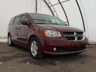 Used 2017 Dodge Grand Caravan Crew POWER DRIVERS SEAT, FULL STOW N GO, REAR CLIMATE CONTROLS for sale in Ottawa, ON