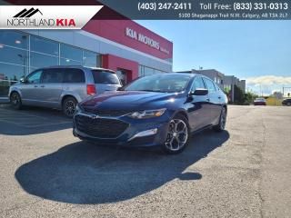 Used 2019 Chevrolet Malibu RS HEATED SEATS, BACKUP CAMERA, ANDRIOD AUTO, APPLE CARPLAY for sale in Calgary, AB