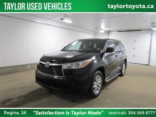 Used 2014 Toyota Highlander LE for sale in Regina, SK