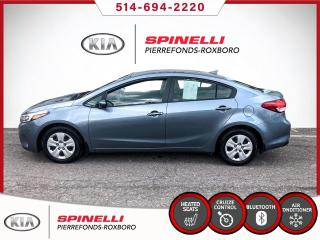 Used 2017 Kia Forte LX+ 1 PROPRIETAIRE for sale in Montréal, QC