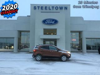 New 2020 Ford EcoSport SE FWD  - Heated Seats for sale in Selkirk, MB