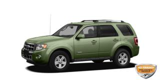 Used 2008 Ford Escape Hybrid AS IS | LOW KILOMETER | SUNROOF | GPS | LEATHER for sale in Waterloo, ON