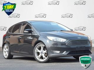 Used 2015 Ford Focus Titanium AUTOMATIC | HATCHBACK | GPS | WINTER PACKAGE | TECH PACKAGE for sale in Waterloo, ON