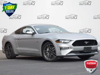 Used 2018 Ford Mustang GT Premium AUTOMATIC | COUPE | DIGITAL GAUGES | LOW KM | LEATHER | GPS for sale in Waterloo, ON
