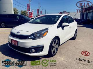 Used 2016 Kia Rio Auto SX|Leather|Smart Key|Push Start|LED|17